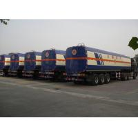 China CIMC tank trailer 50000 liters stainless steel alcohol semi tank trailer 42000 liter fuel tanks for sale wholesale