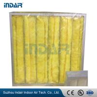 China 4 Bags Industrial HEPA Filter , G3 Pocket HEPA Pre Filter For Air Conditioning System wholesale