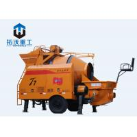 Buy cheap OEM Portable Concrete Pump 30 M^3 Concrete Output With Mixer Delivery Electric from wholesalers