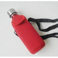 China Hot-selling High quality Neoprene Water bottle bag Drink bottle holder with strap wholesale