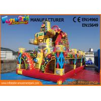 Buy cheap Outdoor Inflatable Bouncer Slide / Spiderman Action Air Jumping Castle from wholesalers