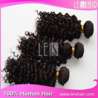 China 5A Good quality hot sale deep curly peruvian remy hair extension wholesale