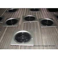 High Precision Stainless Steel Wire Belt Knuckled Selvedge For Food Processing