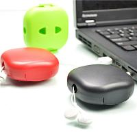 Portable Colorful Households Products USB Cable Winder Headphone Cable Management