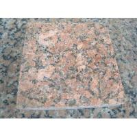 China Nature Granite Stone Tiles Polished Finishing Solid Surface Red Color wholesale