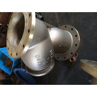 China asme b16.34 cast steel y strainer,bolt cover,b148 c95800 material,12inch,flanged,class 150 on sale