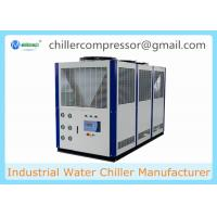 China Low Temperature -15C Temp 10 tons 36kw Air Cooled Glycol Chiller wholesale