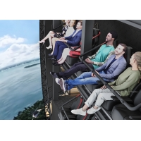 China Indoor Flight Simulation Flying Theater With U-Screen Motion Chair wholesale