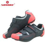 China Self Locking Mens SPD Cycling Shoes , Mens Mountain Bike Trainers Dampproof wholesale