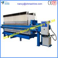 China China popular factory Chamber filter press for coal on sale