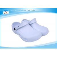 China White Rubber Nursing Laboratory Operating Room Footwear Shoes With Strap wholesale