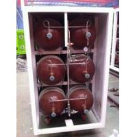 China 50L - 200L Type 2 Glass Fiber CNG Storage Tanks For Compressed Natural Gas Stations wholesale