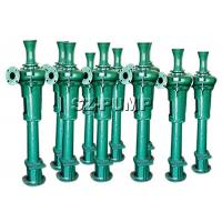 China Mining Sludge Industrial Vertical Sump Pumps With Packing Seal 11 - 200kw on sale