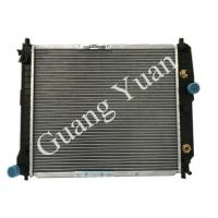 China Daewoo Aluminum Heat Exchanger Radiator With Water Temperature Sensor DPI 2774 96536524 on sale