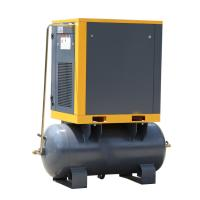 China Nice Quality Stable Cordless 300L tank Compact Electric Rotary 7.5kw Screw Air wholesale