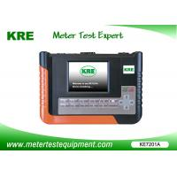 China 120A Clamp Portable Meter Tester Class 0.1 Single Phase With Built - In Clock wholesale