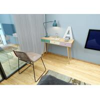 1.1 Meters Length Wooden Comtemporary Writing Desk E1 Board With Three Drawer