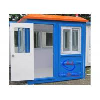 China Prefabricated Low Cost Fiberglass Sentry Box / Guard Shacks and Booths Well- designed wholesale
