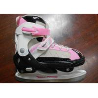 China Girls High Impact Cold-proof Nylon Ice Skating Shoes For Beginner with Stainless Steel Blade wholesale