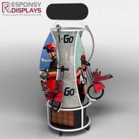 China Floor Wood and Metal Children Bicycle Display Stand on sale