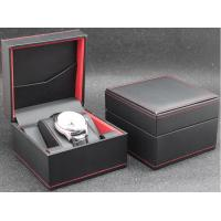 China Eco - Friendly Plastic Watch Box PU Leather Outside Waterproof Environmentally Friendly wholesale