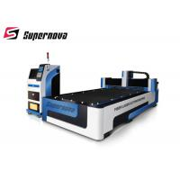 China 4500Kg Fiber Laser Metal Cutting Machine For Tube 1000W / 2000W Speed wholesale