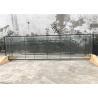 """China 22"""" * 48"""" los paneles del vidrio modelado de la pátina del negro, hojas de cristal decorativas de 19 - 30 milímetros wholesale"""