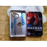 China MAXMAN III MALE 10 pills natural sex medicine wholesale