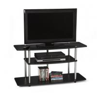 Buy cheap Home Media Wide 3 Tier Contemporary TV Stand , Contemporary Wood TV Storage from wholesalers