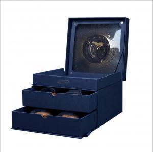 China Custom Logo Ivory Paper Sweet Box Luxury Style Moon Cake For Gift wholesale