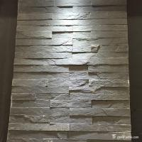 China Fireproof Natural Slate Mini Stone Panels For Indoor / Outdoor Wall Decor wholesale