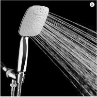 ABS Chrome Home Multifunction Shower Heads Strong Water Pressure Handheld
