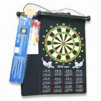 China Safe Dart Board, Made of Silk Smooth Cloth, OEM Orders are Welcome, Available in Various Colors wholesale