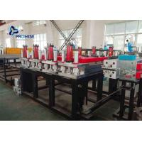 China 3 Phase Plastic Sheet Extrusion Machine PVC Powder Conical Twin Screw on sale