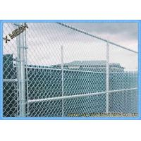 """China 11.5 Ga (0.11"""") Us Standard Galvanized Chain Link Temporary Fence wholesale"""