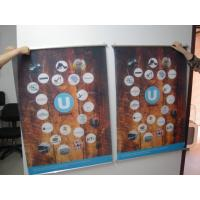 China Large Format Hanging Digital Fabric Banners Printing Colored For UV Printing on sale