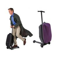China 2015 well-sold multi-functional magical foldable scooter trolley luggage wholesale
