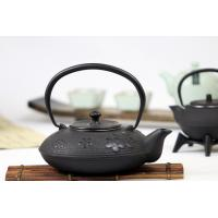 China Plum Blossom Cast Iron Tea Set , Chinese Antique Cast Iron Tea Kettle 1200ml on sale