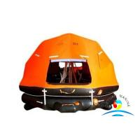 China Marine Rescue Equipment Self Righting Davit Launched Inflatable Life Raft wholesale