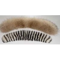Buy cheap raccoon fur collar from wholesalers