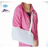 China White Shoulder Support Brace / Breathable Arm Sling Breathable Mesh Cloth Material wholesale