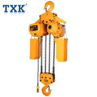China High Density Chain Container Single Phase Electric Hoist G80 Load 10T Hook Lifting With CE Certificate wholesale