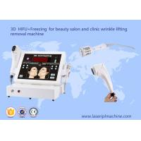 China 3D hifu + freezing for beauty salon and clinic wrinkle lifting removal machine wholesale