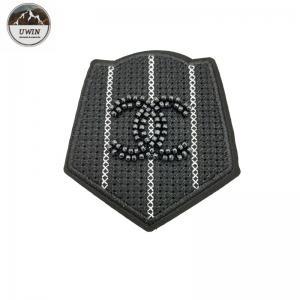 China Customized Size Custom Sew On Patches No Minimum 3D With Twill / Felt Fabric wholesale