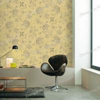 PVC free Non-woven Plant Korea Wallpaper for home decoration