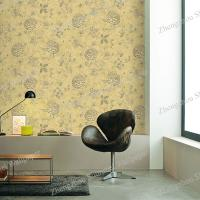 China PVC free Non-woven Plant Korea Wallpaper for home decoration wholesale