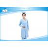 China V - Neck Custom Unique Medical Scrubs Uniforms Dresses Navy Blue wholesale