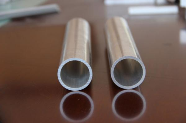 Quality PVDF Painted Anodized Extruded Aluminum / Bronze Standard Aluminum Extrusion , OEM for sale