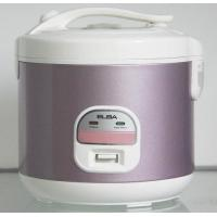 Coumputer Deluxe Stainless Steel Rice Cooker with bridge handle auto keeping warm
