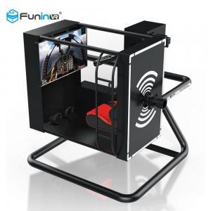 China Full Motion Entertainment Amusement Park Equipment 220V 3.5kw 720 Degree Flight Simulator Cockpits wholesale